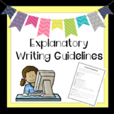 Narrative Writing Guidelines