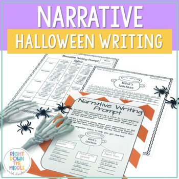 Narrative Writing: Halloween Writing for Middle and High School