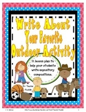 Expository Writing - Write About Your Favorite Outdoor Activity
