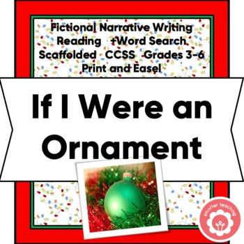 Christmas: Fictional Narrative Writing And Bulletin Board