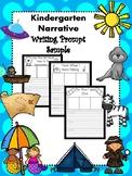 Narrative Writing In Kindergarten