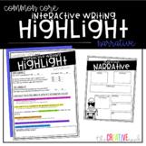 Narrative Writing Interactive Highlight