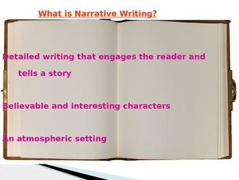 Narrative Writing Introduction