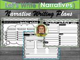 Narrative Writing Layout