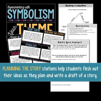 Narrative Writing Learning Stations