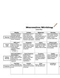 Narrative Writing Lesson Plan