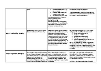 No Prep Narrative Writing Full Unit Based on Seven Steps