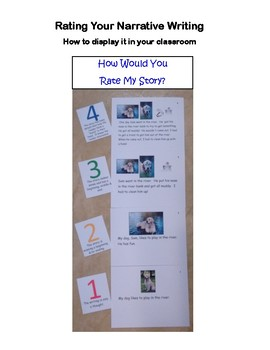 Narrative Writing Lesson Plans & Visuals for Early Elem.