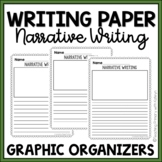 Narrative Writing Lined Paper with Picture Box