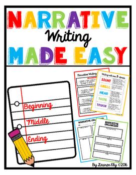 Narrative Writing Made Easy!