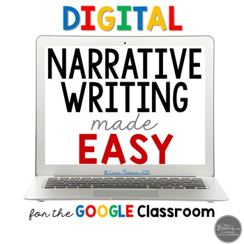 Narrative Writing Made Easy: Digital and Printable for Grades 4-8