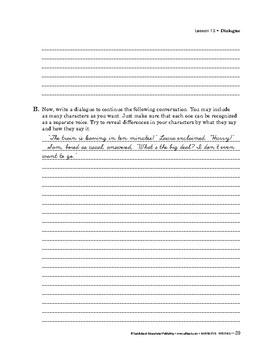 Narrative Writing: Mechanics: Spelling