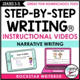 Narrative Writing Mini Lesson Videos | Distance Learning