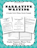 Narrative Writing -- Mini-Lessons, Graphic Organizers, Mentor Texts & Rubrics!
