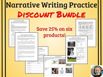 Narrative Writing Mini-Lessons/Practice Discount Bundle