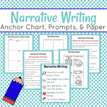 Narrative Writing Mini-Pack