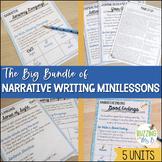 Narrative Writing Mini-lesson Unit Bundle