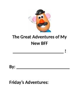 Narrative Writing-My New Best Friend (Mr. Potato)