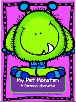 Narrative Writing: My Pet Monster