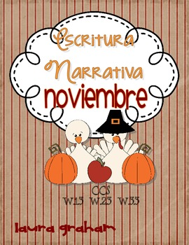 November Writing Prompts in Spanish