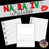Narrative Writing Organizers