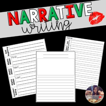Narrative Writing Organizers