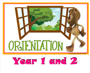 Narrative Writing - Orientation - Year 1 + 2