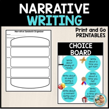Narrative Writing Supports Common Core