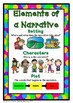 Narrative Writing Pack {5 Anchor Charts, 4 Differentiated Templates}