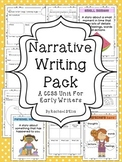 Narrative Writing Pack {A CCSS Activity Pack for Early Writers!}