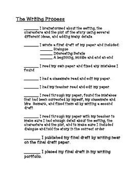 Narrative Writing Packet