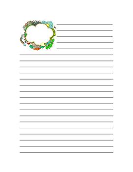 Narrative Writing Paper