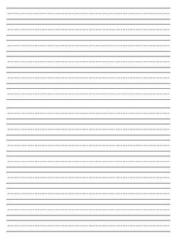Narrative Writing Paper (FREE!)