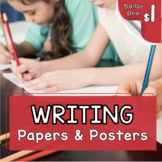 Narrative Writing Paper - Graphic Organizers - Writer's Wo