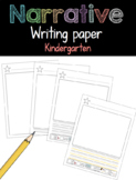 Narrative Writing Paper Kindergarten