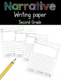 Narrative Writing Paper Second Grade