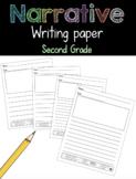 Narrative Writing Paper Second Grade