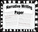 Narrative Writing Paper - beginning of the year