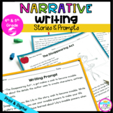 Narrative Writing Passages and Prompts with Google Slides Distance Learning
