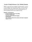 Narrative Writing Performance Task Using 2 Sources