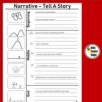 Narrative Writing - Personal Narrative Bundle