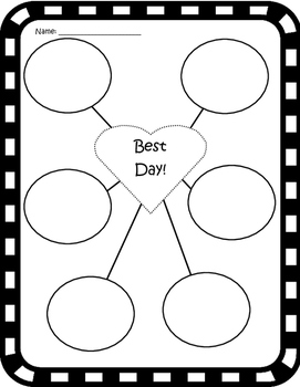 Personal Narrative Writing Graphic Organizer & Worksheets | TpT