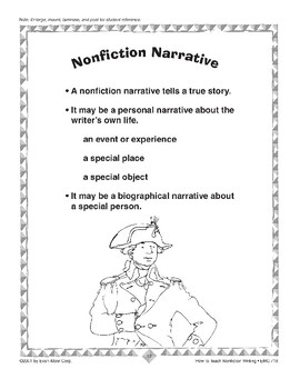 Narrative Writing: Personal Narratives