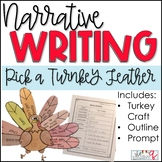 Narrative Writing- Pick A Turkey Feather Project