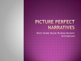 Narrative Writing-Picture Perfect. Powerpoint+ CLOZE Lesson Notes!