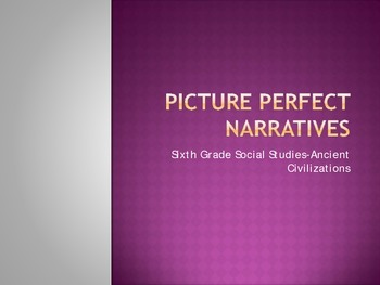 Narrative Writing-Picture Perfect. Powerpoint+ CLOZE Lesso