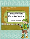 Narrative Writing Plan Graphic Organizers and Worksheets