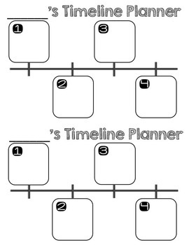 FREE! Narrative Writing Planners