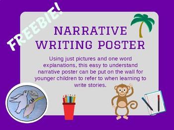 Narrative Writing Poster FREEBIE!
