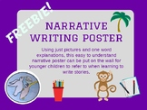 Narrative Writing Poster FREEBIE!